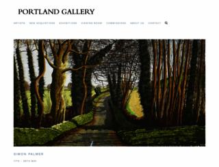 portlandgallery.com screenshot