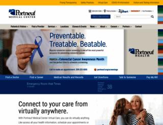 portmed.org screenshot
