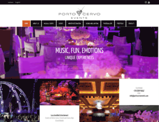 portocervoevents.com screenshot