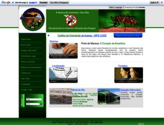portodemanaus.com.br screenshot