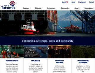 portoftacoma.com screenshot