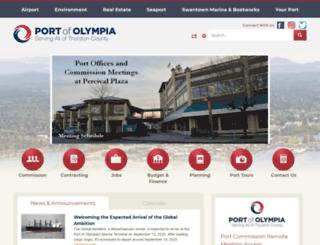 portolympia.org screenshot