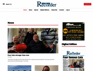 portpirierecorder.com.au screenshot