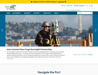 portseattle.org screenshot