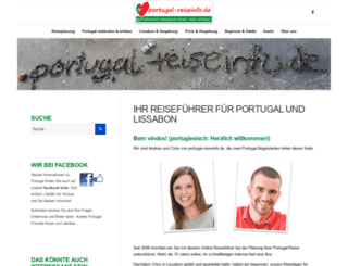 portugal-reiseinfo.de screenshot