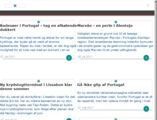 portugal.dk screenshot