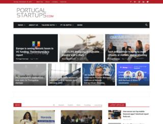portugalstartups.com screenshot