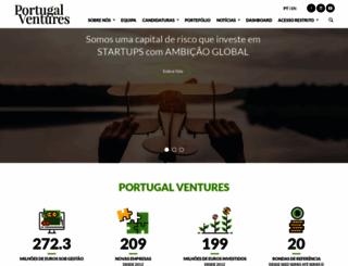 portugalventures.pt screenshot