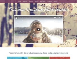 porunanavidadinolvidable.com screenshot