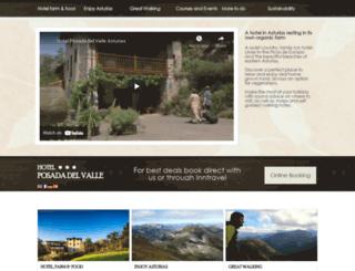 posadadelvalle.com screenshot