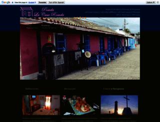posadalacasarosada.com screenshot