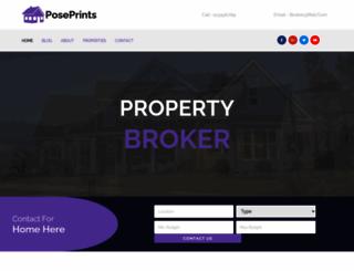 poseprints.com screenshot