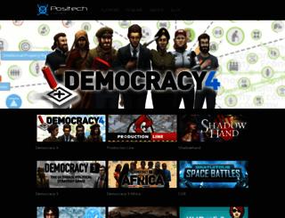 positech.co.uk screenshot