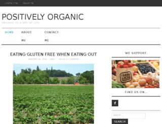positively-organic.com screenshot