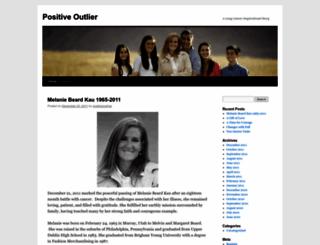 positiveoutlier.wordpress.com screenshot
