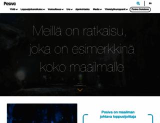 posiva.fi screenshot