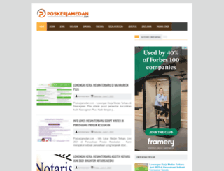 poskerjamedan.com screenshot