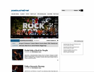 poslouchej.net screenshot