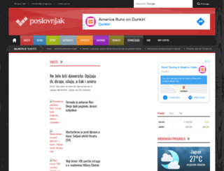 poslovnjak.net screenshot