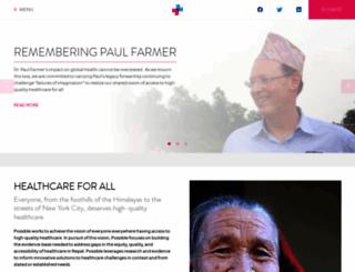 possiblehealth.org screenshot