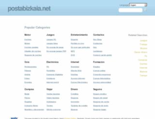 postabizkaia.net screenshot