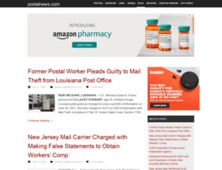 postalnewsblog.com screenshot