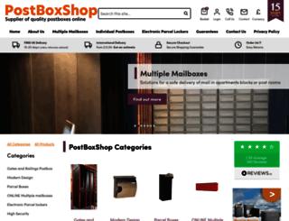 postboxshop.com screenshot