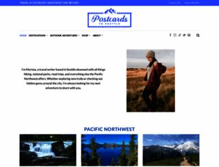 postcardstoseattle.com screenshot