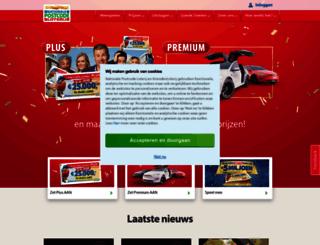 postcodeloterij.nl screenshot