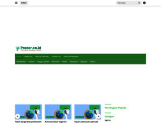 poster.co.id screenshot