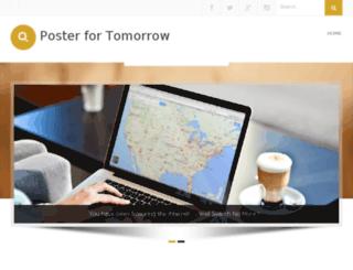 posterfortomorrow.com screenshot