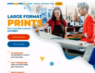 posterprintshop.com screenshot