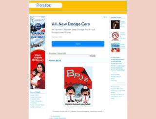 posterweb.blogspot.com screenshot