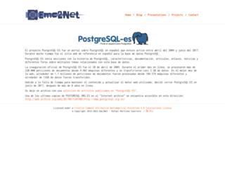 postgresql.org.es screenshot