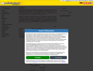 postleitzahl.org screenshot