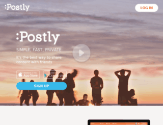 postly.co screenshot