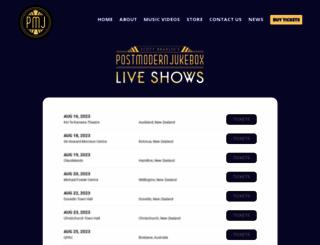 postmodernjukebox.com screenshot