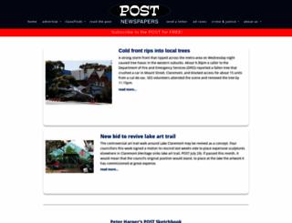postnewspapers.com.au screenshot