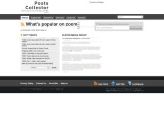 postscollector.blogspot.com screenshot