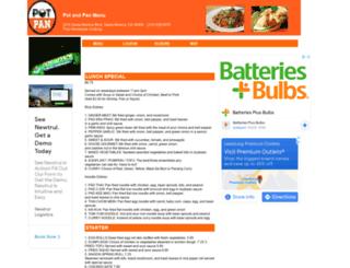 potandpan.menutoeat.com screenshot