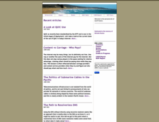 potaroo.net screenshot