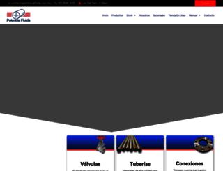 potenciafluida.com.mx screenshot