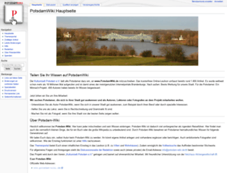 potsdam-wiki.de screenshot