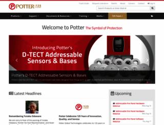 pottersignal.com screenshot