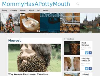 pottymouthmama.org screenshot