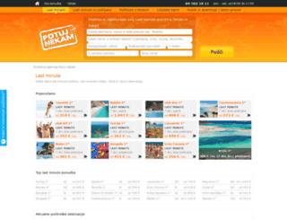 potujnekam.com screenshot