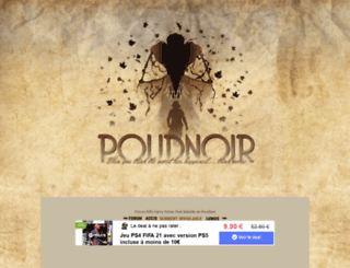 poudnoir.goodforum.net screenshot