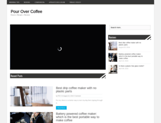 pouringovercoffee.com screenshot