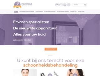 pourtous.nl screenshot