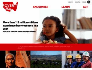 povertyusa.org screenshot